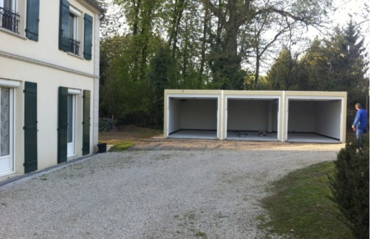 R alisations abr industrie for Garage kit beton